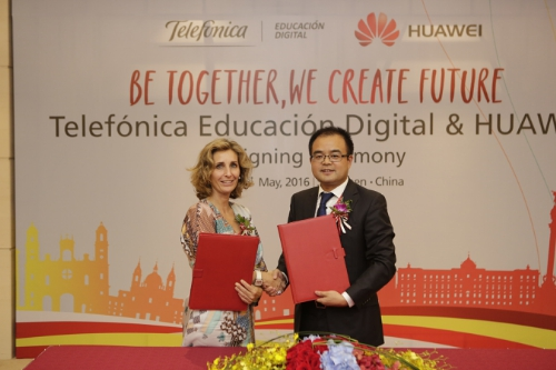 Huawei Signing Ceremony