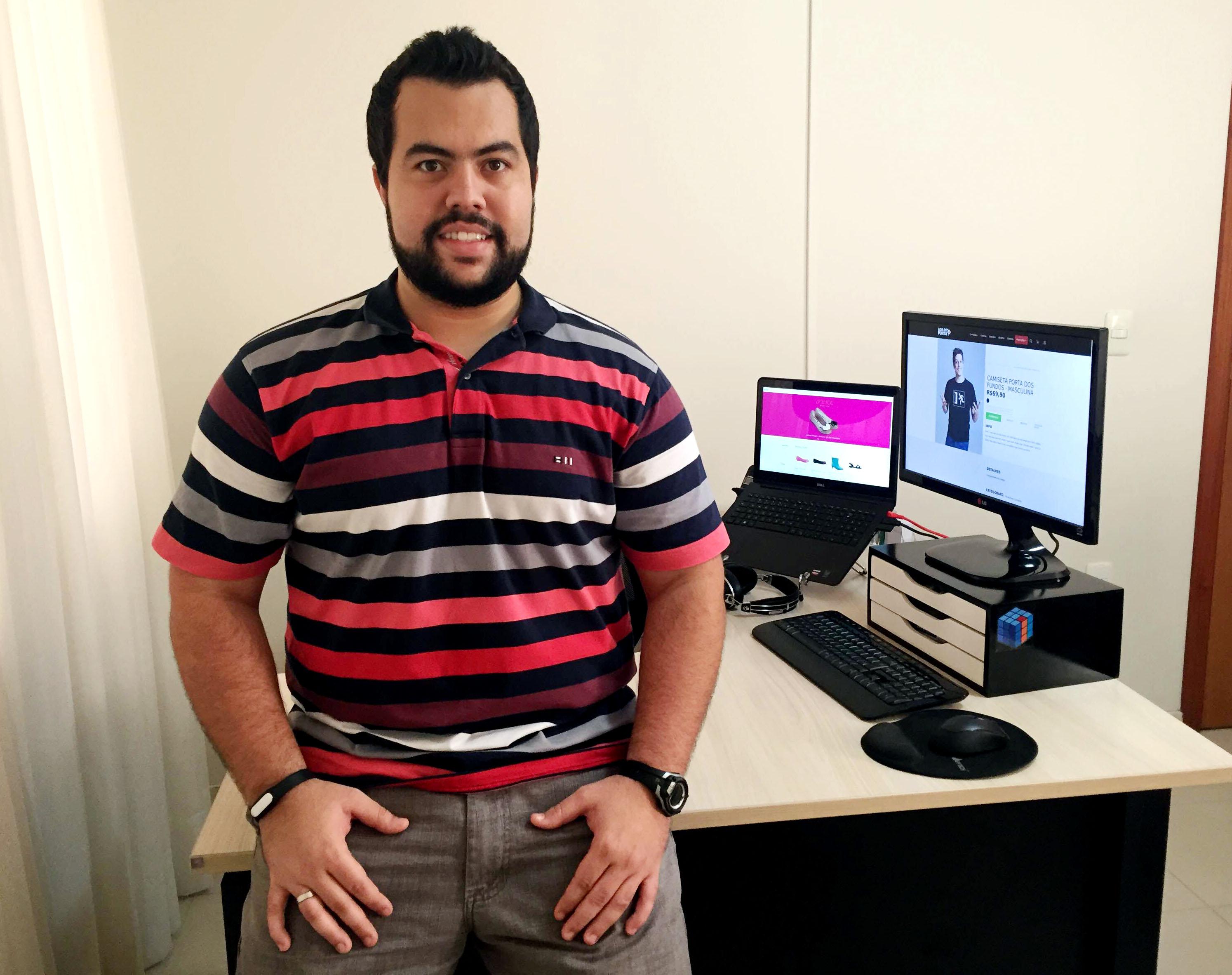 O CTO e sócio da Trezo, André Felipe T. da Luz